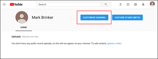 How To Create A YouTube Channel For Your Business - Mark Brinker